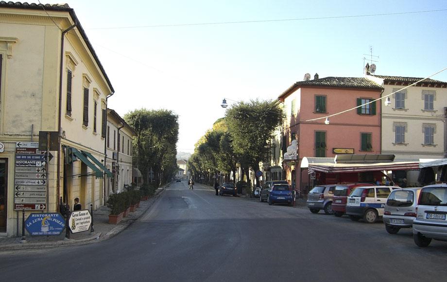 Main street, San Lorenzo